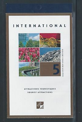 Canada Booklet 2001 Tourist Attractions #BK244 MNH