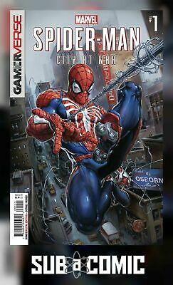 SPIDER-MAN CITY AT WAR #1 (MARVEL 2019 1st Print) COMIC