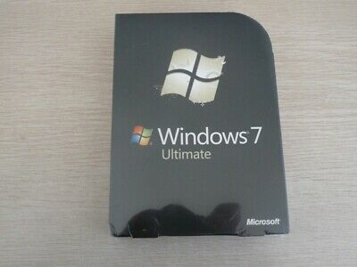 Microsoft Windows 7 Ultimate 32 AND 64 bit Retail Full Version DVDs