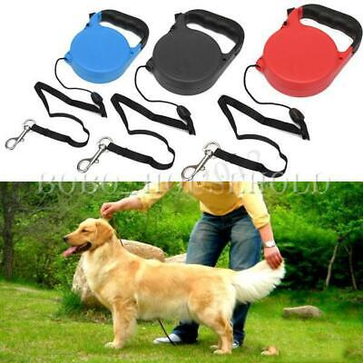8M 35kgs Auto Extendable Retractable Dog Lead Leash Pet Training Cord Hold Max