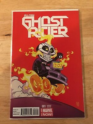 ALL NEW GHOST RIDER #3 VEHICLE TEXEIRA 1:15 VARIANT (Marvel