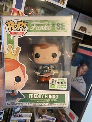 2019 ECCC Exclusive (1000 Piece) Freddy Funko. Brown pants Shipped In Hard Stack