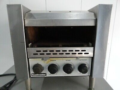 Toastmaster Commercial Stainless Steel Conveyor Toaster Model TC17D 208 Volt