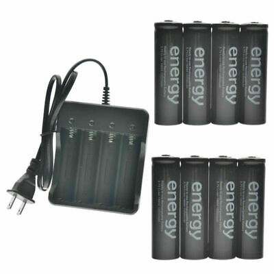 18650 Battery 10000mAh Li-ion 3.7V Rechargeable Batteries for LED Flashlight TR