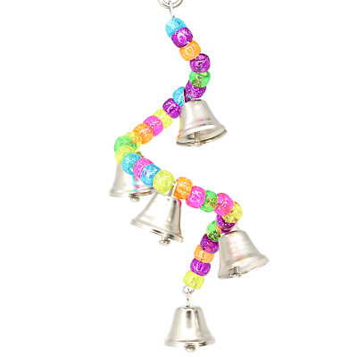 890 RING MY BELL BIRD TOY parrot cage craft toys cages cockatiel budgie lovebird