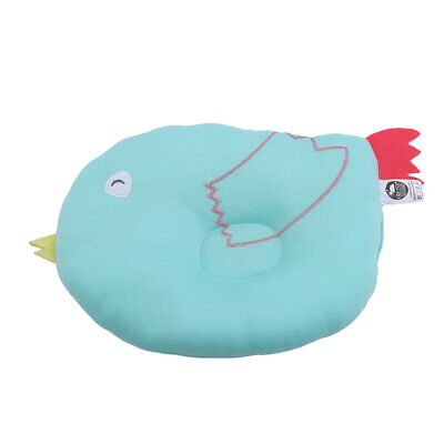 Baby Infant Newborn Prevent Flat Head Neck Anti Roll Support Memory Pillow B