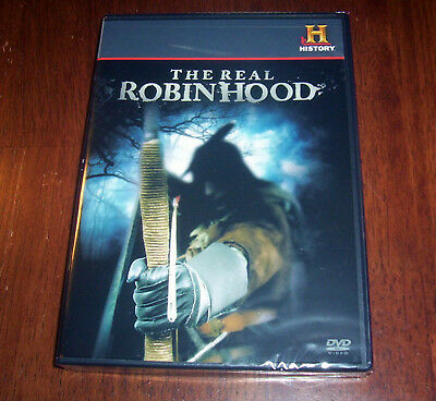 ROBIN HOOD England Bandit Archer Sherwood Forest Outlaw History Channel DVD NEW