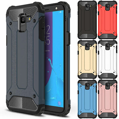 Heavy Duty Shockproof Rugged Bumper Case Cover For Samsung Galaxy J8 J6 J4 2018