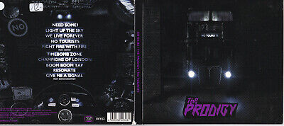 The Prodigy ‎-No Tourists- CD Take Me To The Hospital near mint