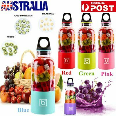 500ML Portable Electric Luicer Cup Rechargeable Blender Luice Maker Bottle L3