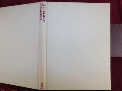 MEDIAEVAL GARDENS by JOHN HARVEY/MIDDLE AGES/MEDIEVAL/RARE 1981 1st