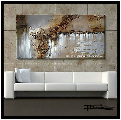 ABSTRACT PAINTING MODERN CANVAS WALL ART Listed by Artist Large USA  ELOISExxx
