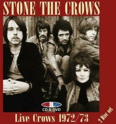 Stone the Crows - Live Crows 1972/73 MAGGIE BELL LESLIE HARVEY CD/DVD NEU OVP