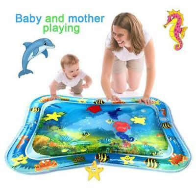 Inflatable Water Mat Baby Infant Toddlers Mattress Splash Playmat Tummy Time US