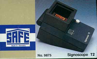 Safe Signoscope T 2 Optical Electrical Watermark Finder New without Transformer