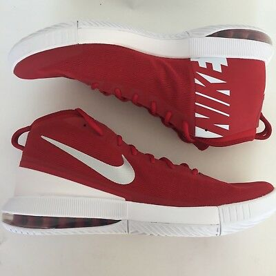 sale retailer f32df a893f NIKE BASKETBALL SHOES Mens 17.5 Red Silver 2017 Air Max Dominate 942520-603