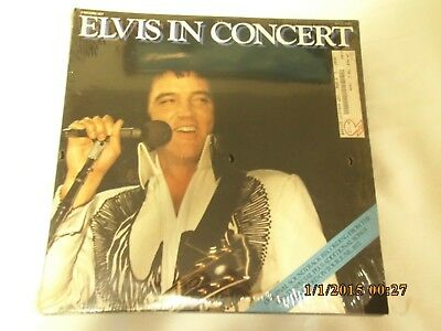 elvis presley record never opened or played, still in excellent condition