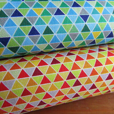 Triangle print fabric from 'Safari in the Sk' by Quilting treasures 100% cotton