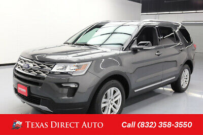 2018 Ford Explorer XLT Texas Direct Auto 2018 XLT Used 3.5L V6 24V Automatic 4WD SUV Premium