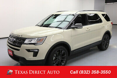 2018 Ford Explorer XLT Texas Direct Auto 2018 XLT Used 3.5L V6 24V Automatic FWD SUV Premium