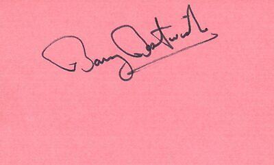 Leonard Frey Actor 1976 Uja Telethon Tv Movie Autographed Signed Index Card Autographs-original Movies