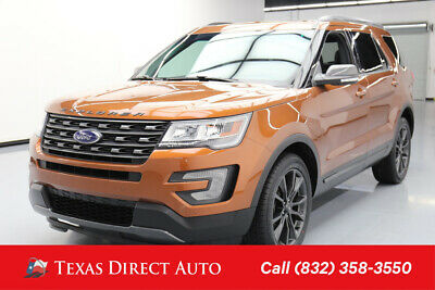 2017 Ford Explorer XLT Texas Direct Auto 2017 XLT Used 3.5L V6 24V Automatic 4WD SUV Premium