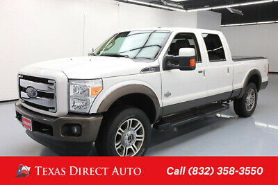 2016 Ford F-250 4x4 King Ranch 4dr Crew Cab 6.8 ft. SB Pickup Texas Direct Auto 2016 4x4 King Ranch 4dr Crew Cab 6.8 ft. SB Pickup Used Turbo