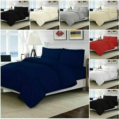 Luxurious 100% Egyptian Cotton Tc-200 Duvet Cover Bedding Sets With Pillowcases