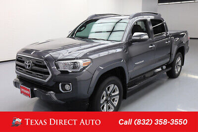 2016 Toyota Tacoma Limited Texas Direct Auto 2016 Limited Used 3.5L V6 24V Automatic RWD Pickup Truck