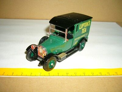 Blechspielzeug Talbot Liptons Tea 1927 Matchbox Made In England By Lesney Nr 10