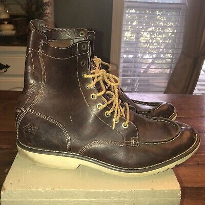 bf45ec940de6 Timberland 84557 Earthkeepers City Escape Boots Brown Leather Ankle Men  11.5 M
