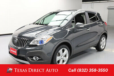 2016 Buick Encore Leather Texas Direct Auto 2016 Leather Used Turbo 1.4L I4 16V Automatic FWD SUV OnStar