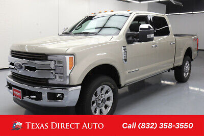 2017 Ford F-250 4x4 King Ranch 4dr Crew Cab 6.8 ft. SB Pickup Texas Direct Auto 2017 4x4 King Ranch 4dr Crew Cab 6.8 ft. SB Pickup Used Turbo