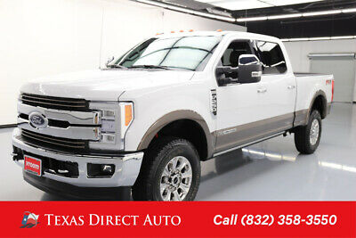 2017 Ford F-250 King Ranch 4dr Crew Cab Texas Direct Auto 2017 King Ranch 4dr Crew Cab Used Turbo 6.7L V8 32V Automatic