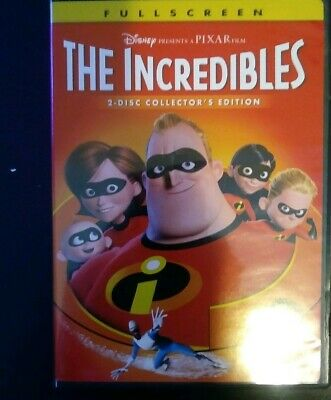 Preowned The Incredibles (DVD, 2-Disc Set, Fullscreen, Collectors Edition)