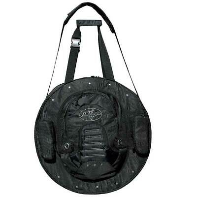"""C--BLA 21"""" X 21"""" Professional Choice Rope Bag Deluxe Four Compartments Black"""