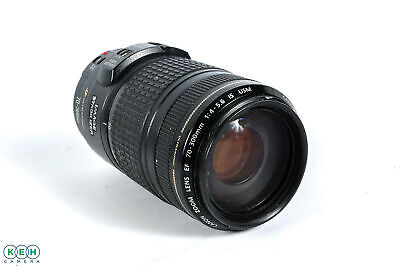 """Canon EF 70-300mm F/4-5.6 IS USM Lens {58} """"AS IS"""""""