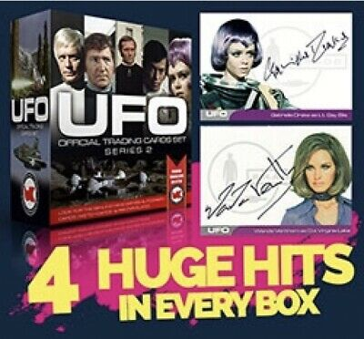 UFO Series 2 Sealed Box Of Trading Cards 4 Hits & Dealer Promo