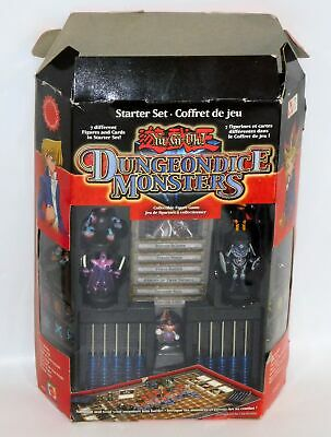 Yu-Gi-Oh Dungeon Dice Monsters Starter Set NEW IN OPEN BOX Monster Lord Figure+
