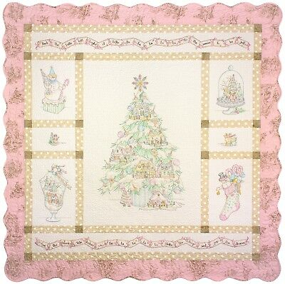 10% Off Crab-apple Hill Quilt/Embroidery Pattern Set - Deck the Halls