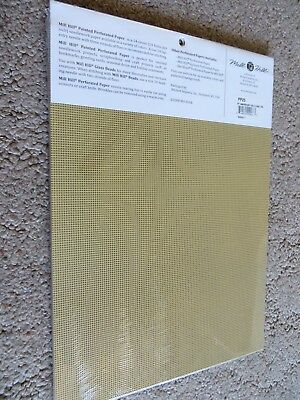 14 count Mill Hill Painted Perforated Paper Misty Lime