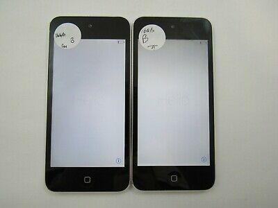 Lot of 2 Apple iPod Touch 5th Gen A1509 16GB WiFi Only Good Condition 3-1829