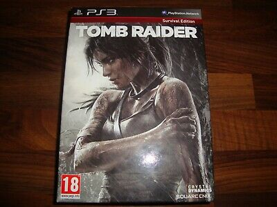 Playstation 3 Game - TOMB RAIDER Survival Edition PAL PS3