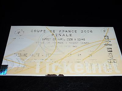 used ticket finale coupe de france 2006