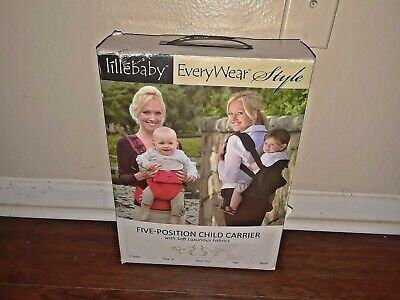 Lillebaby Five-Position Baby Child Carrier Cocoa Couture In Box