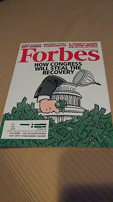 Forbes magazine July 13, 2009 issue Congress cover story
