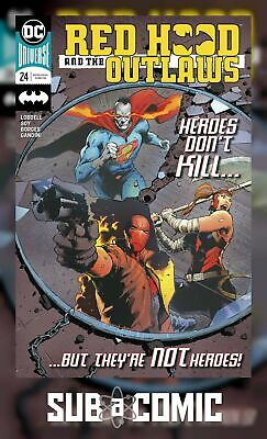 RED HOOD AND THE OUTLAWS #24 (DC COMICS 2018 1st Print) COMIC