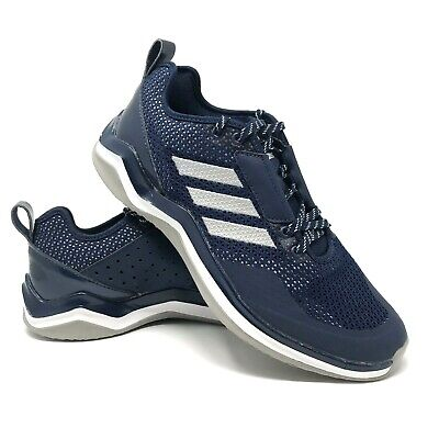 33922a49076f6 Adidas Men s Running Cross Training Shoes Blue Mesh SPG753001 2017 Size 8.5