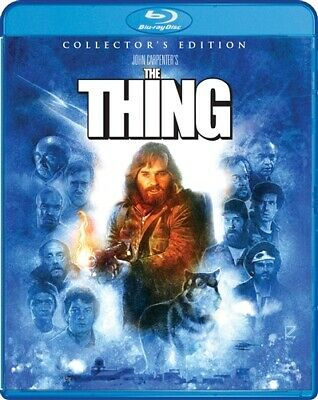 THE THING New Sealed Blu-ray 1982 Collector's Edition John Carpenter