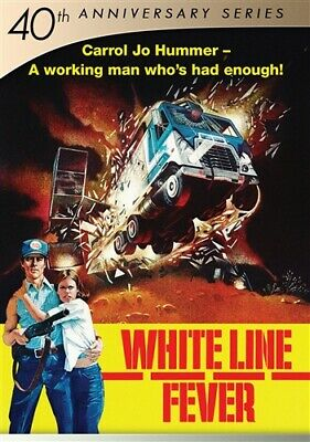 WHITE LINE FEVER New Sealed DVD 40th Anniversary Series Jan-Michael Vincent
